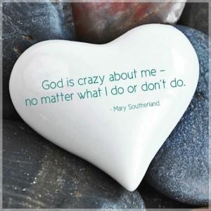 God is crazy