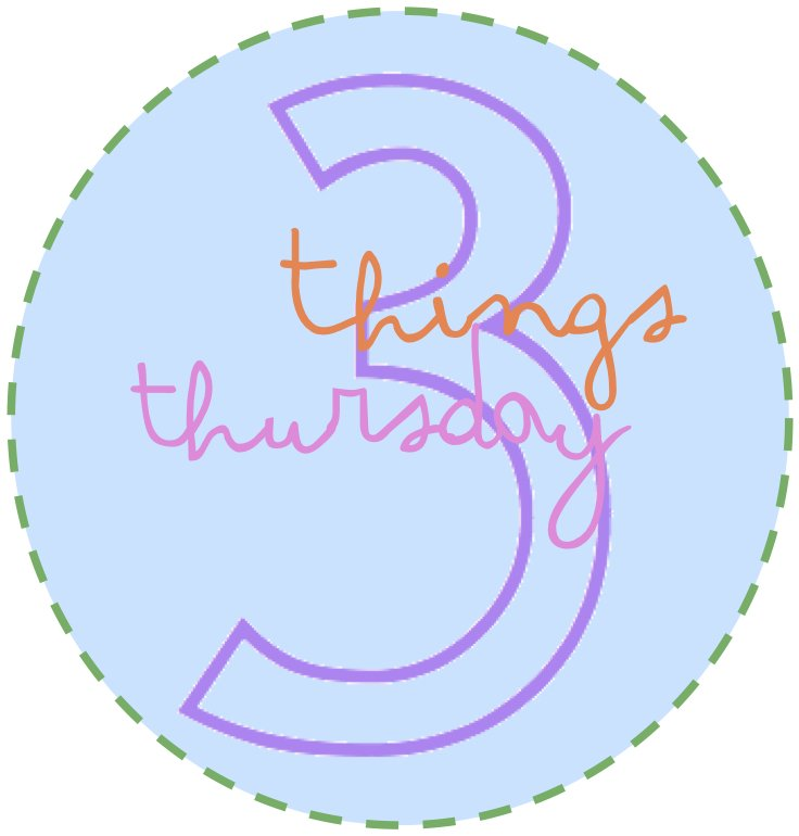 three things thursday