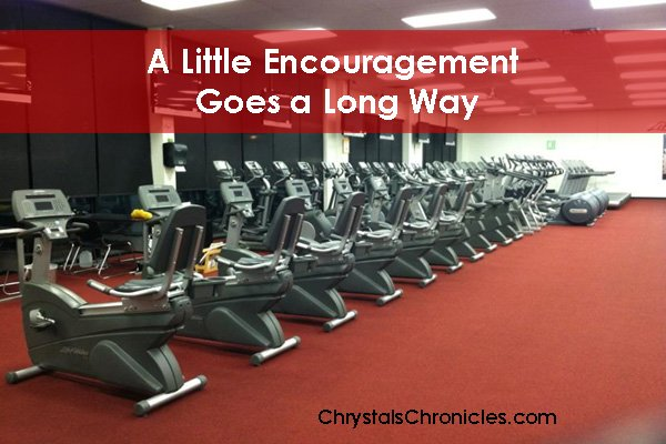 Little Encouragement Goes a Long Way