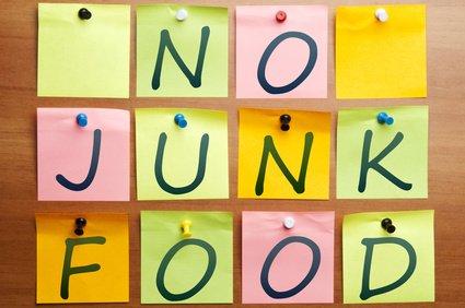 No junk food
