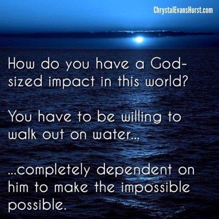 God-Sized Impact