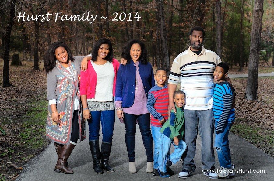 Hurst Family 2014
