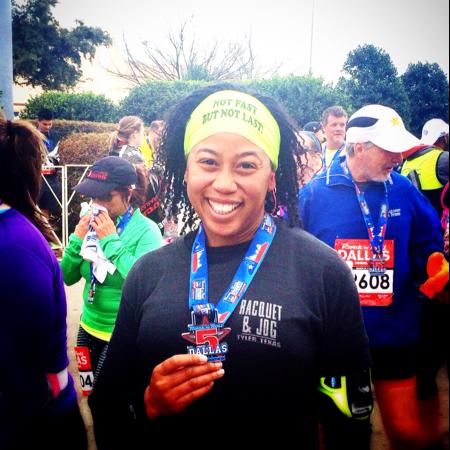 Half Marathon Finished!
