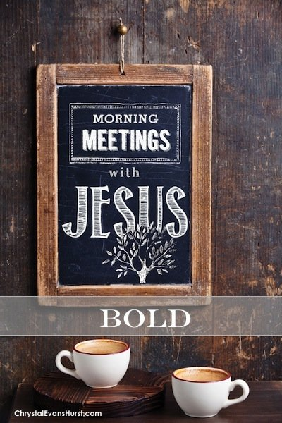 Morning Meetings with Jesus  - Bold