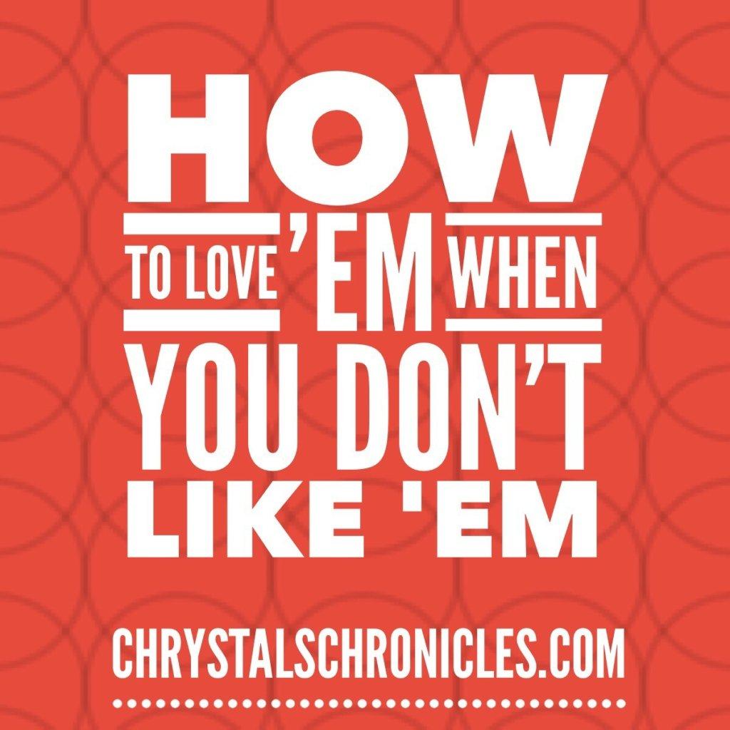 How to Love 'Em