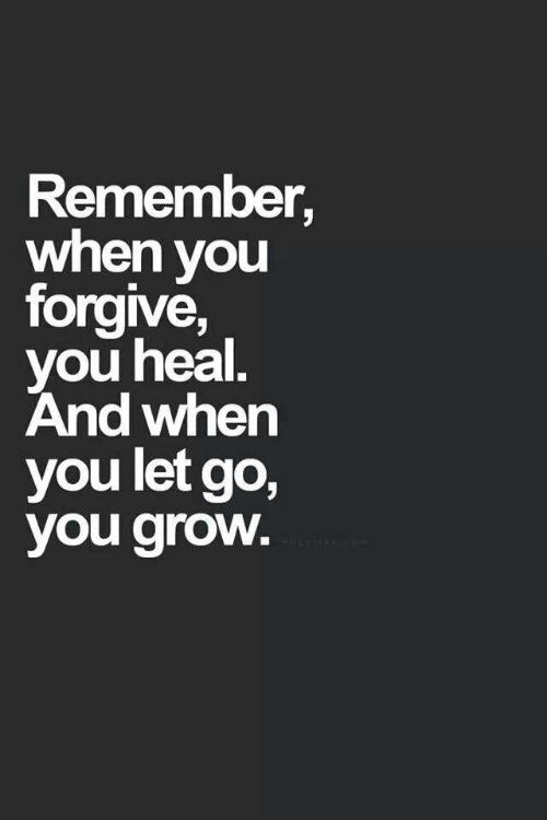 Forgive. Heal. Grow.