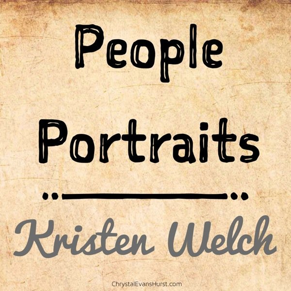 People Portraits Kristen Welch