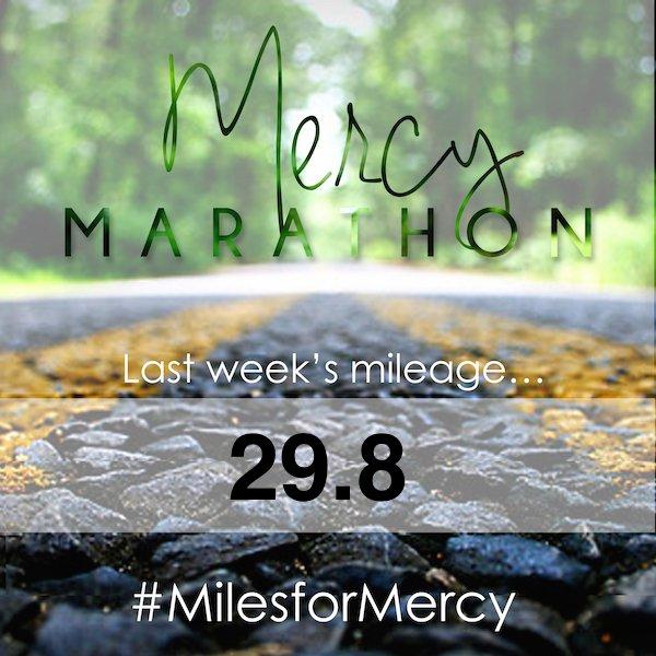 Mercymarathon_last weeks mileage_111014