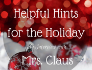 Helpful Hints Mrs Claus