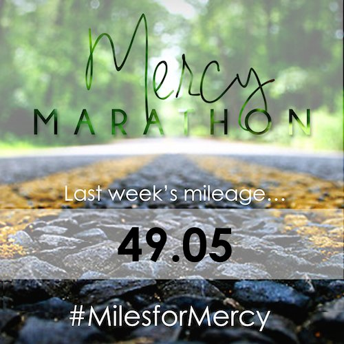 Mercymarathon_last weeks mileage_113014