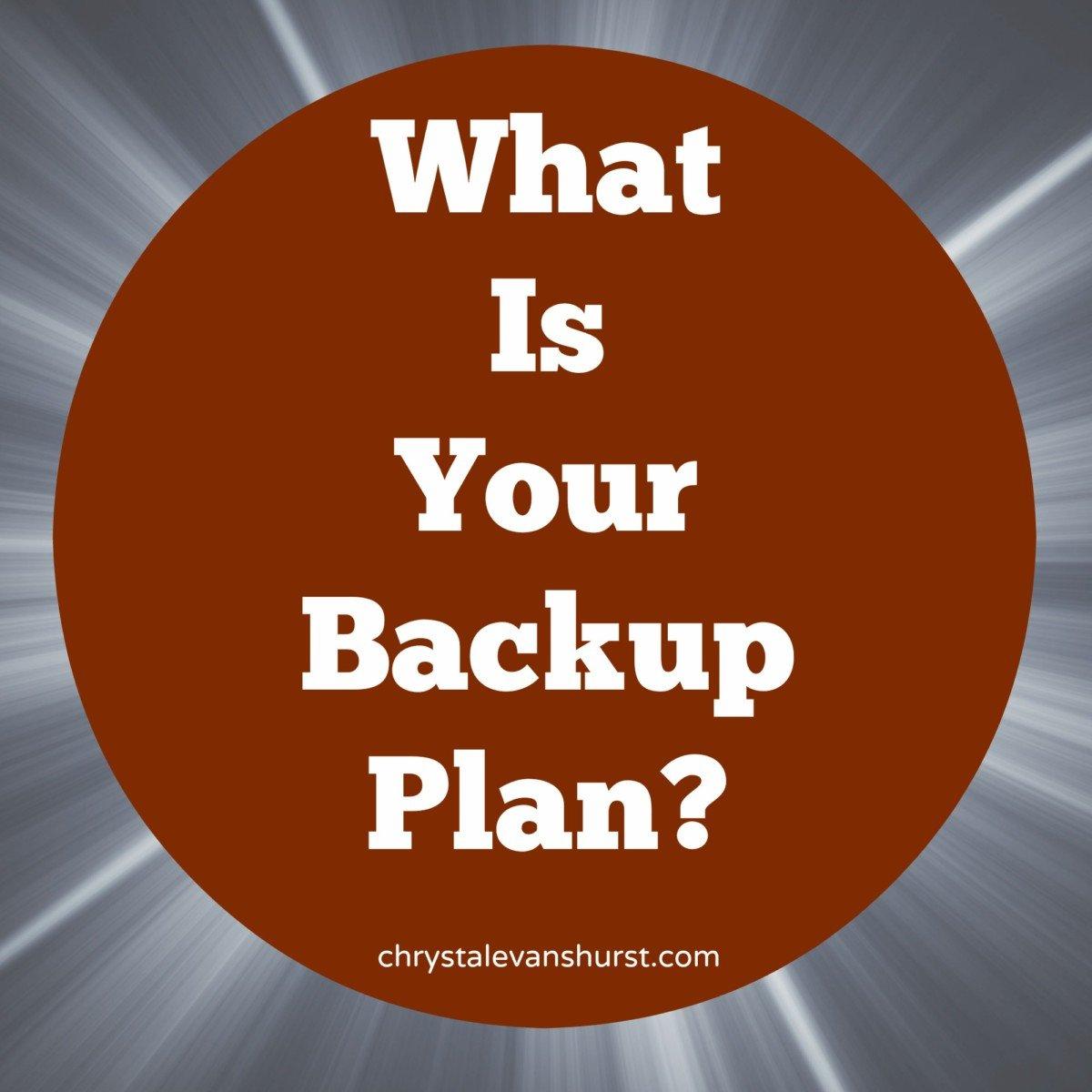 Backup Plan