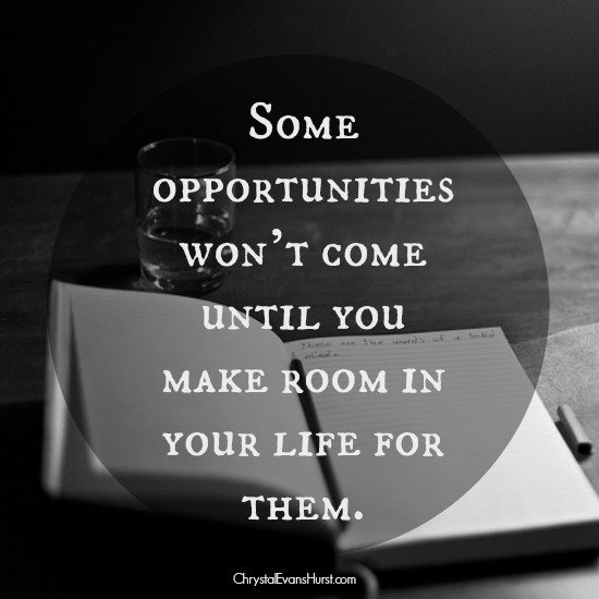 some opportunities