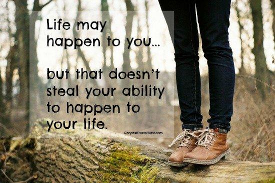 life may happen