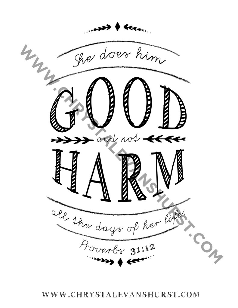 Good Not Harm_proverbs3112watermark