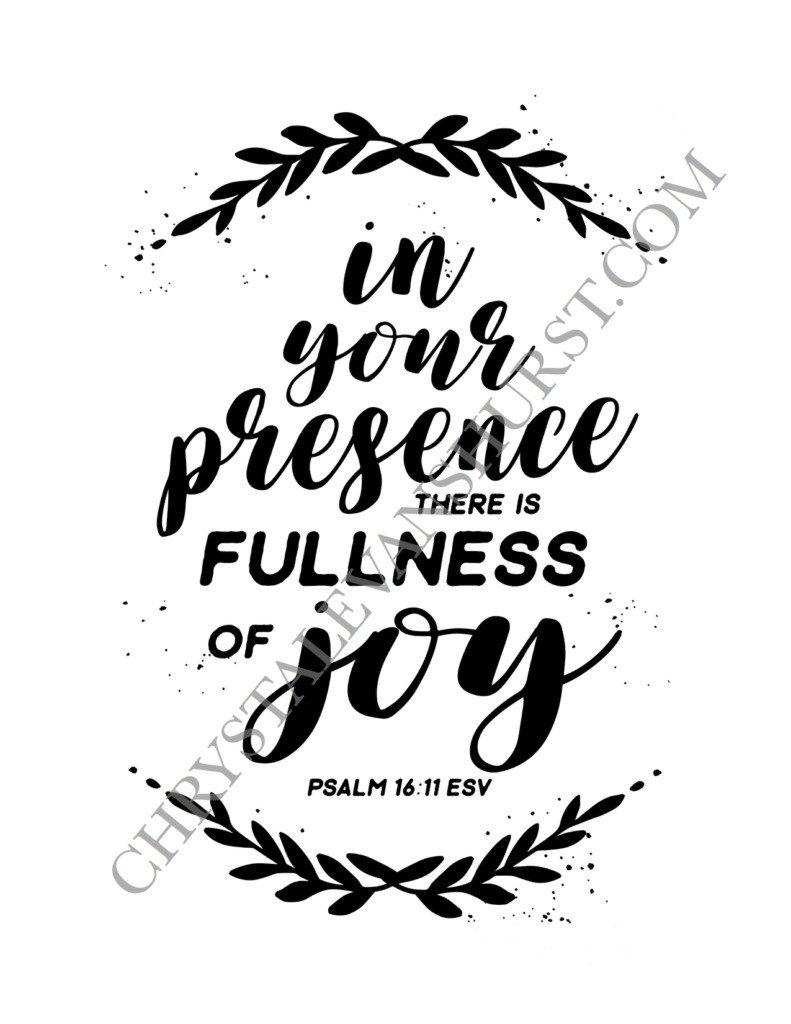 Psalm 16 w:Watermark