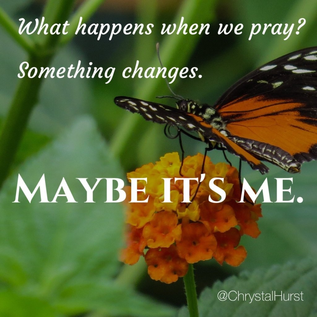 changes in me Change, conversion, repentance, whatever you wish to call it, can have absolutely no meaning outside of jesus christ if anyone is in christ, he is a new creation the old is gone, the new has come.