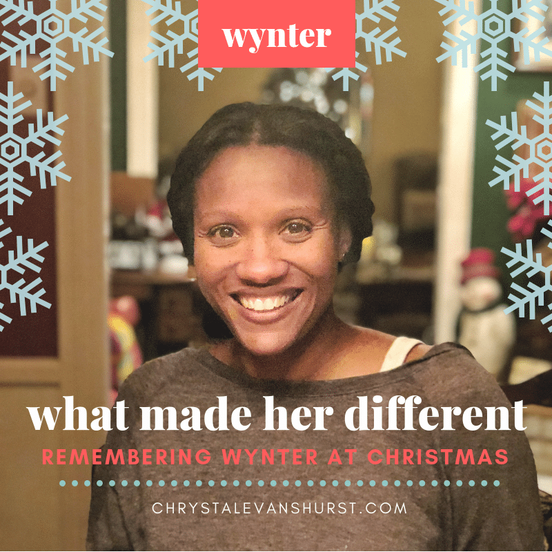 Wynter was different